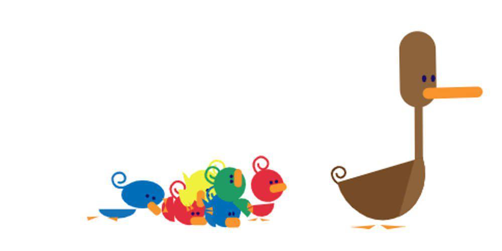 Το doodle της Google για τη Γιορτή της Μητέρας