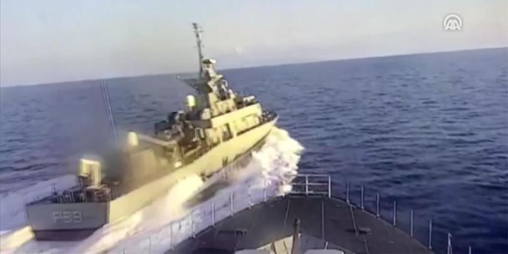 Αναντολού: Πυραυλάκατος των Ελλήνων παρενόχλησε τουρκική κορβέτα στο Αιγαίο [βίντεο]