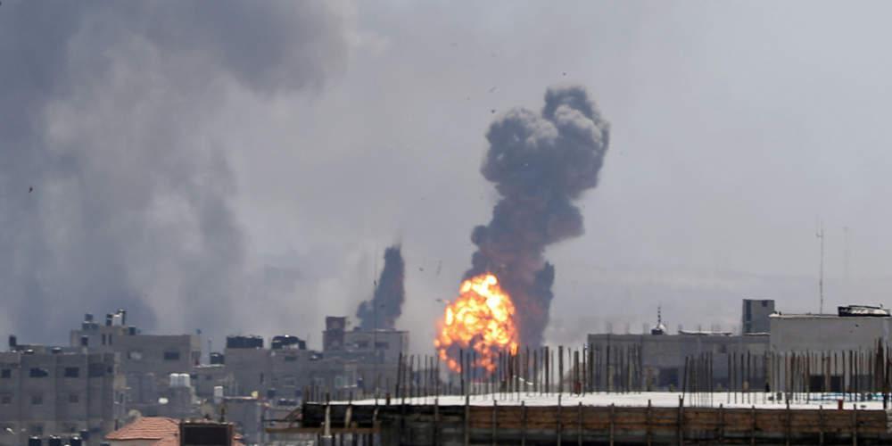 Ένας νεκρός Παλαιστίνιος στη Γάζα από ισραηλινές αεροπορικές επιδρομές