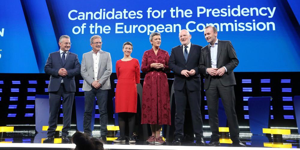 Δείτε live το debate των έξι υποψηφίων για την προεδρία της Κομισιόν
