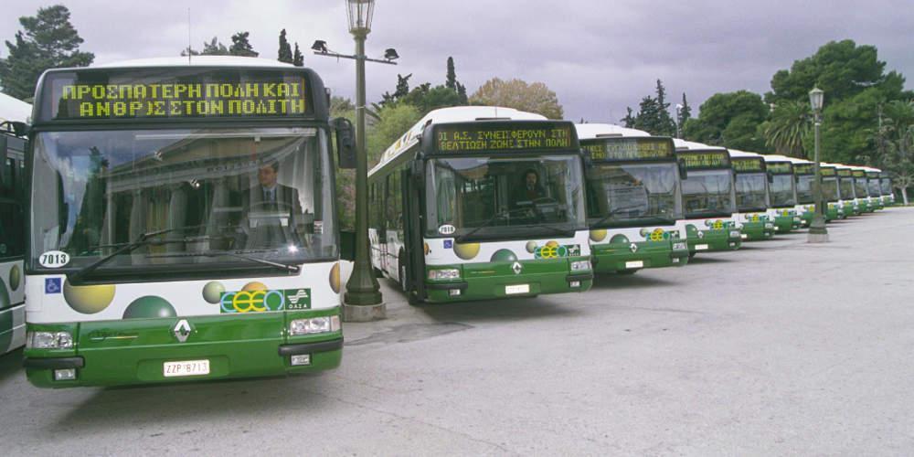 Προβλήματα στα δρομολόγια λεωφορείων με φυσικό αέριο λόγω απεργίας στη ΔΕΠΑ