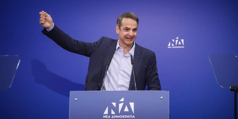 Μητσοτάκης από τα Ιωάννινα: Ο Κυμπουρόπουλος δεν είναι «γλάστρα», ο Τσίπρας είναι ίδιος με τον Πολάκη