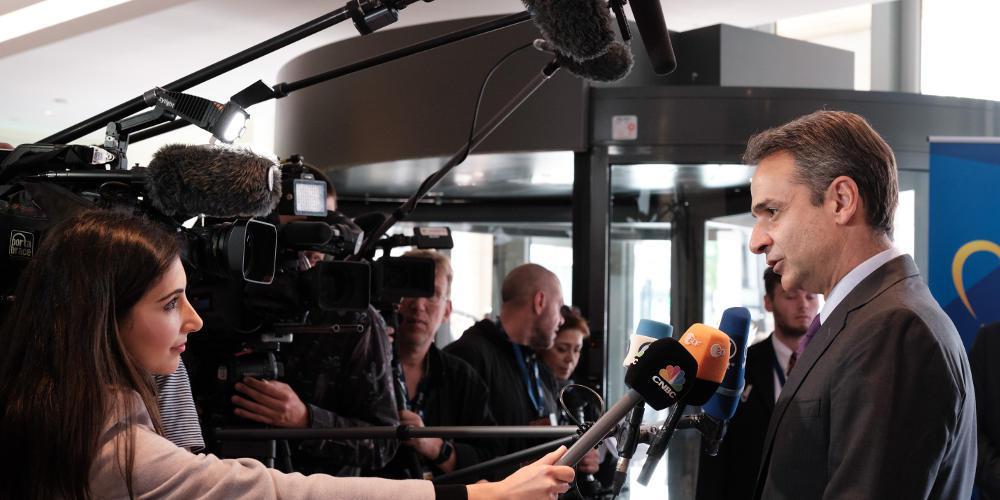 Μητσοτάκης από τις Βρυξέλλες: Την Κυριακή έγινε το πρώτο βήμα για την μεγάλη πολιτική αλλαγή
