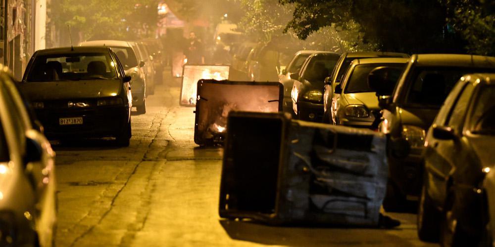 Ανάληψη ευθύνης για την επίθεση με μολότοφ στα κεντρικά του ΣΥΡΙΖΑ... χωρίς υπογραφή