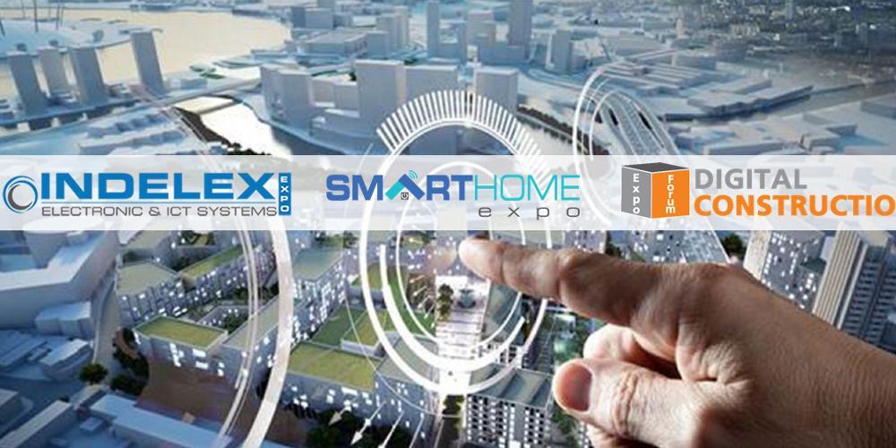 Πρεμιέρα για τις εκθέσεις INDELEX-SMART HOME Expo & DIGITAL CONSTRUCTION