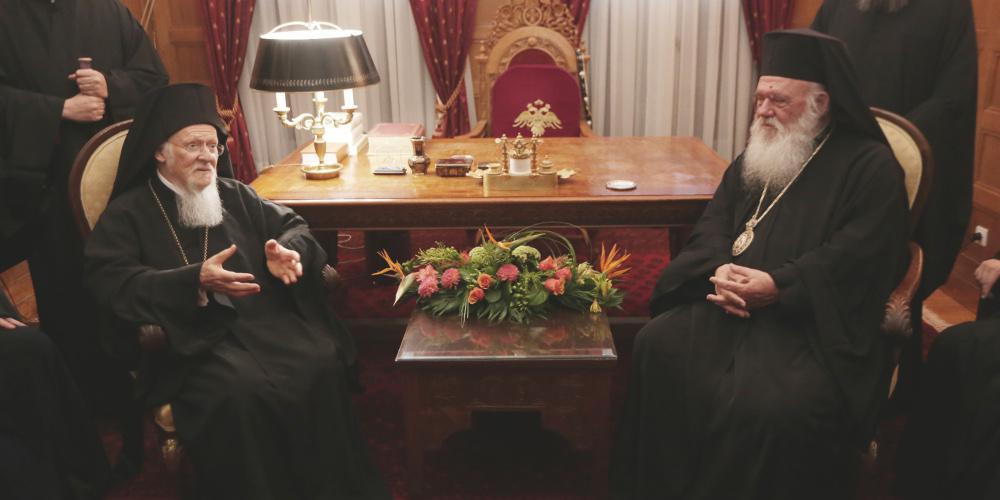Νέα εποχή στις σχέσεις Φαναρίου - Αρχιεπισκοπής: «Προχωράμε πάντα μαζί και ενωμένοι»