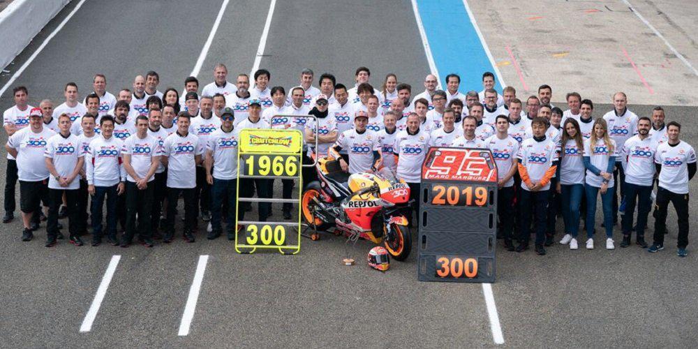 300 νίκες για τη Honda στην κορυφαία κατηγορία του MotoGP