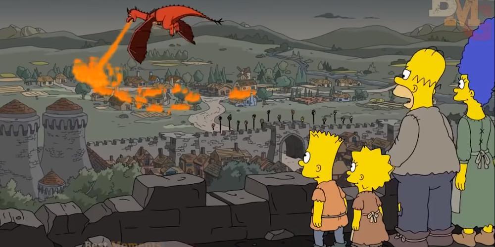 Game of Thrones: Οι Simpsons είχαν προβλέψει την παράνοια της Καλίσι