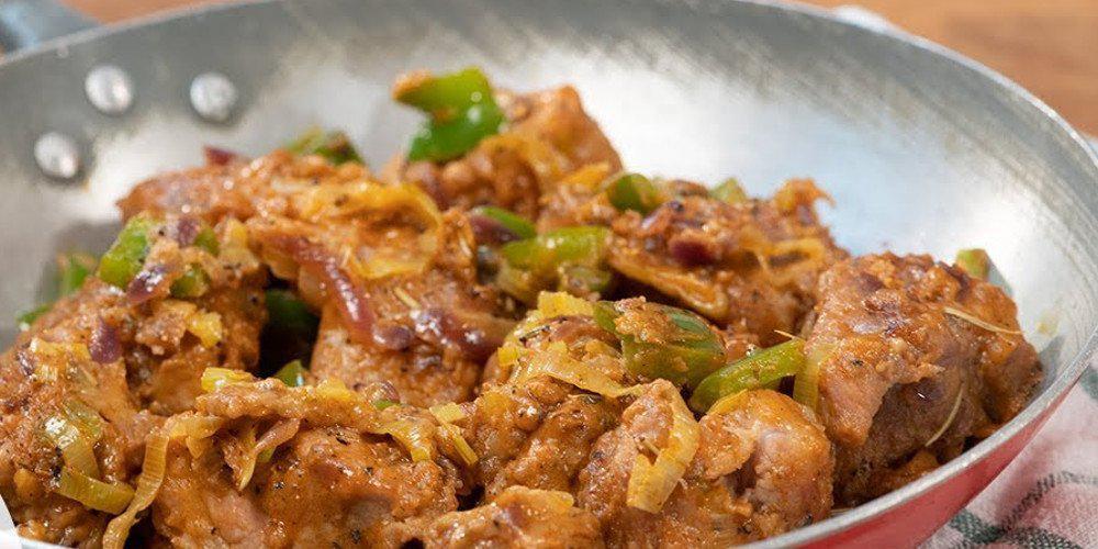 Η συνταγή της ημέρας: Τηγανιά με πράσο από τον Τάσο Αντωνίου
