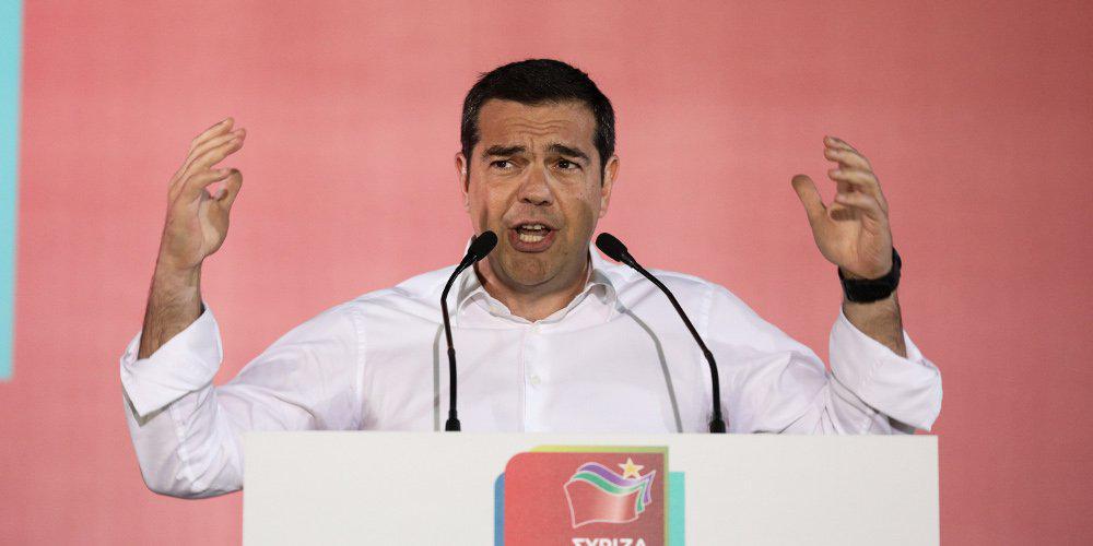 LIVE: Ο Αλέξης Τσίπρας παρουσιάζει το πρόγραμμα του ΣΥΡΙΖΑ για τις εκλογές