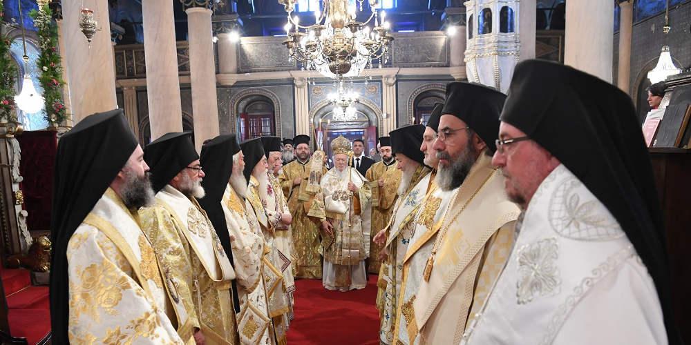 Συγκινημένος ο Πατριάρχης Βαρθολομαίος κάλεσε κλήρο και λαό να προσευχηθεί για τη Θεολογική Σχολή της Χάλκης