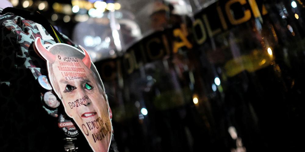 Νέες διαδηλώσεις φοιτητών εναντίον του προέδρου Μπολσονάρου στην Βραζιλία