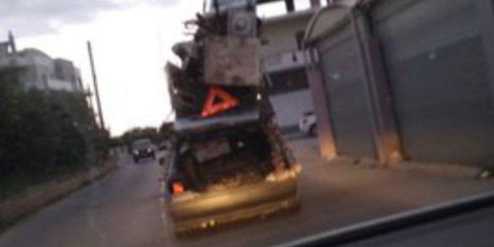 Οδηγός-φονιάς στα Χανιά μετέτρεψε το αυτοκίνητό του σε φορτηγάκι και μετακόμισε [εικόνα]