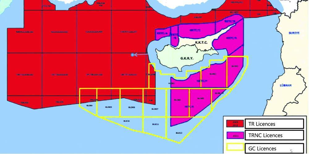 Αποκλειστικό: Οι Τούρκοι εξαφάνισαν ελληνική υφαλοκρηπίδα, κυπριακή ΑΟΖ, Καστελόριζο [χάρτης]