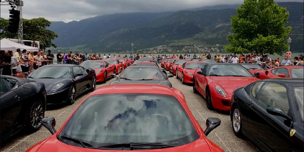 Ferrari Road Show στην Κέρκυρα και την Πάτρα
