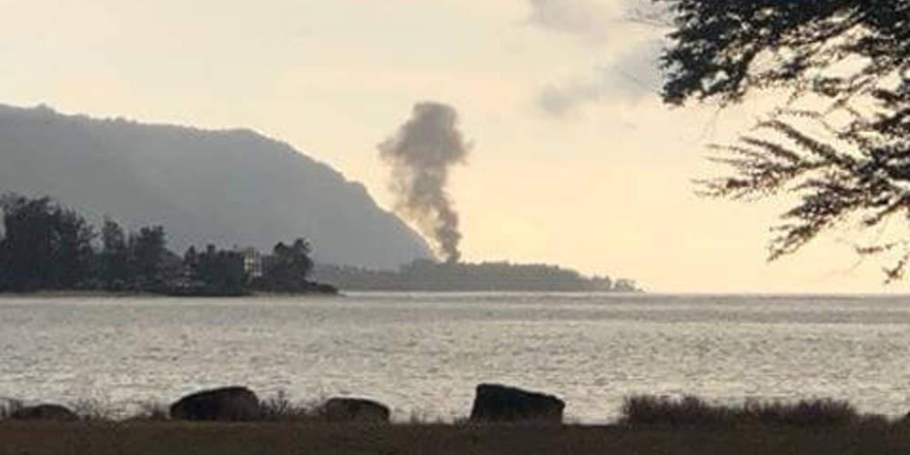 Τραγωδία: 9 νεκροί από συντριβή αεροπλάνου στη Χαβάη