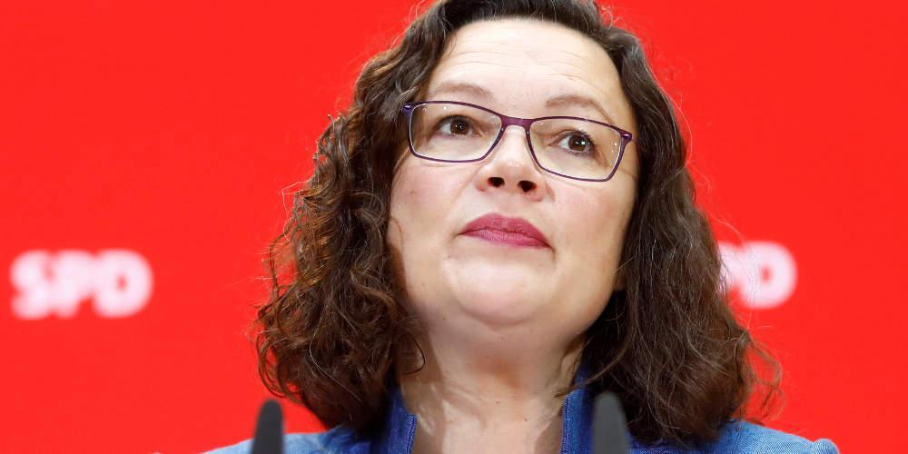 Παραιτήθηκε και επισήμως από την ηγεσία του SPD η Αντρέα Νάλες