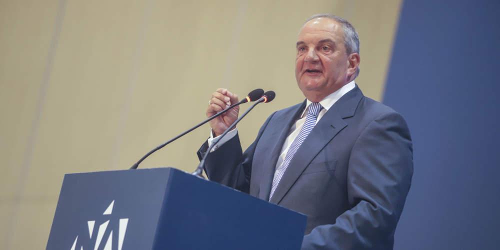 Αποθεώθηκε ο Καραμανλής: Ισχυρή κυβέρνηση με Κυριάκο για να πάμε μπροστά την Ελλάδα