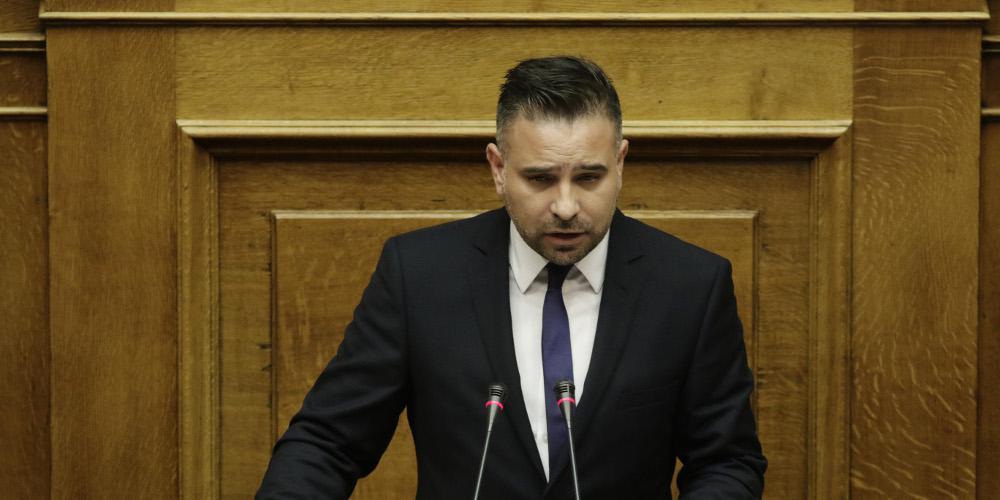 Τροχαίο ατύχημα για τον βουλευτή Γιώργο Κατσιαντώνη [εικόνες]