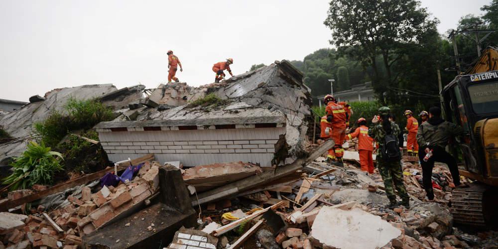 Τουλάχιστον 19 τραυματίες στην Κίνα από ισχυρό σεισμό 5,4 Ρίχτερ