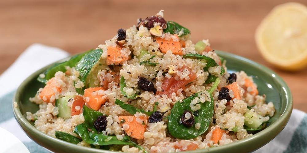 Η συνταγή της ημέρας: Σαλάτα κινόα από τον Τάσο Αντωνίου