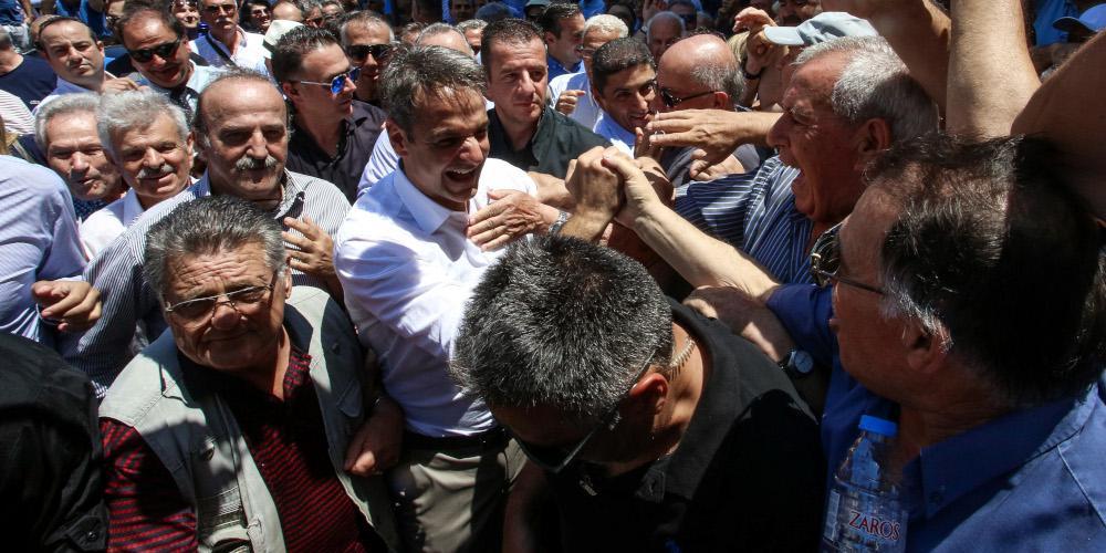 Μήνυμα Μητσοτάκη: Στόχος να βαφτεί γαλάζια η Κρήτη στις εθνικές εκλογές