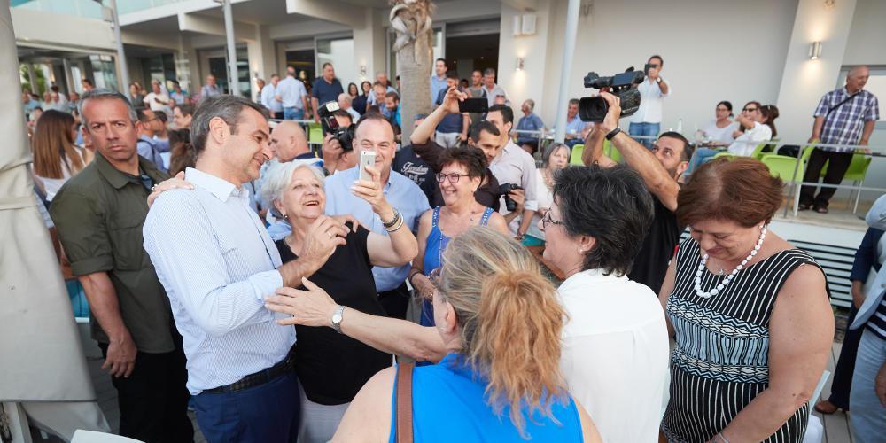 Μητσοτάκης: Οι πολίτες ανάγκασαν τον Τσίπρα να προκηρύξει εκλογές