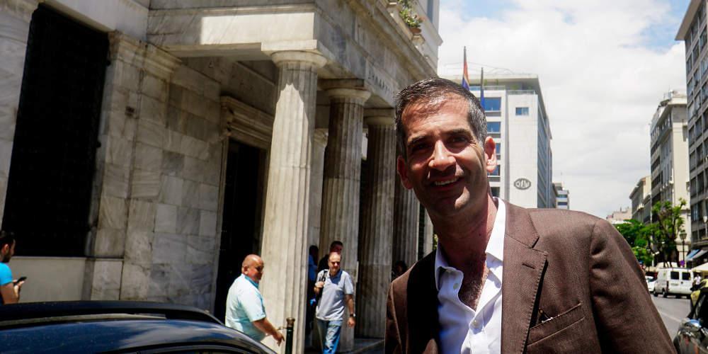 Συνάντηση εργασίας Μπακογιάννη με τον Δήμαρχο Αθηναίων Γιώργο Μπρούλια