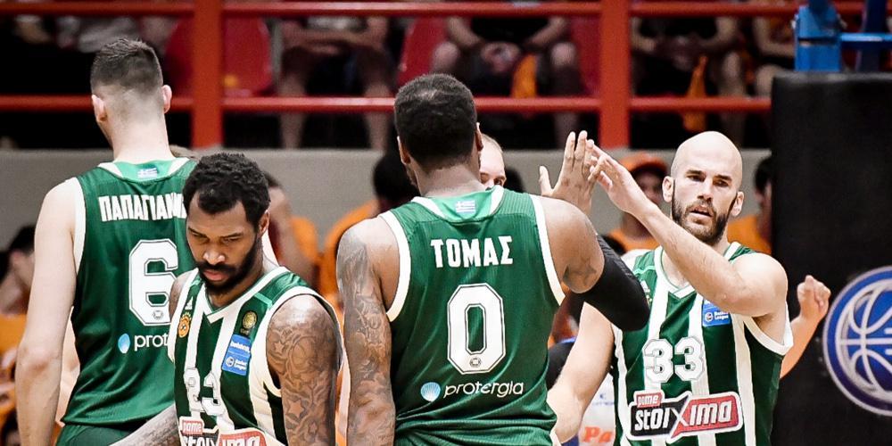 Τελικοί Basket League: «Αγκαλιά» με τον 38ο τίτλο ο Παναθηναϊκός - 92-80 τον Προμηθέα