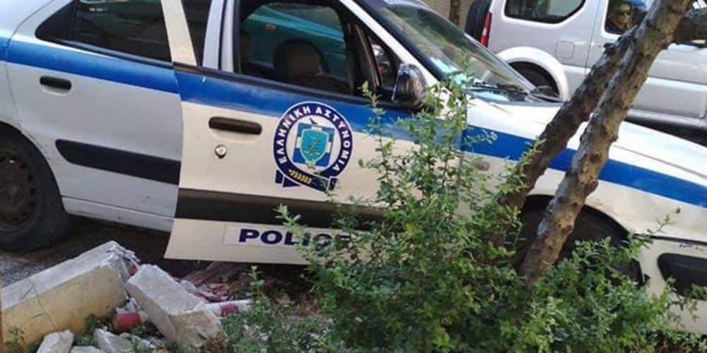 Τροχαίο με περιπολικό: Τραυματίστηκαν ελαφρά δύο αστυνομικοί – Έσπασαν τα φρένα λένε