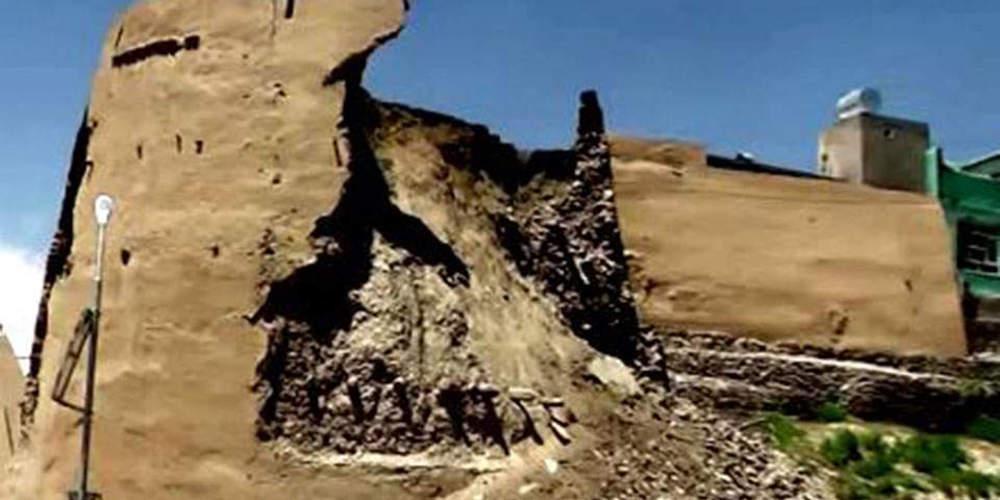 Κατέρρευσε 2.000 ετών στο Γάζνι του Αφγανιστάν [βίντεο]
