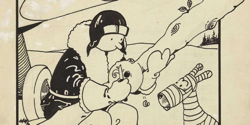 Το σκίτσο του πρώτου εξώφυλλου του Τεν Τεν πωλήθηκε 1 εκατ. δολάρια