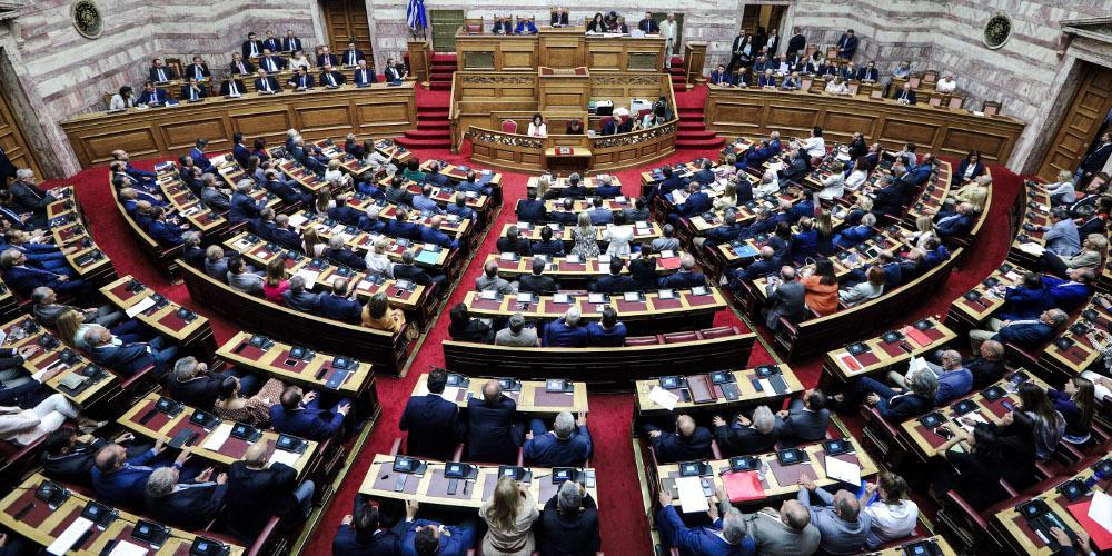 Δείτε live τη συζήτηση στη Βουλή για τις προγραμματικές δηλώσεις