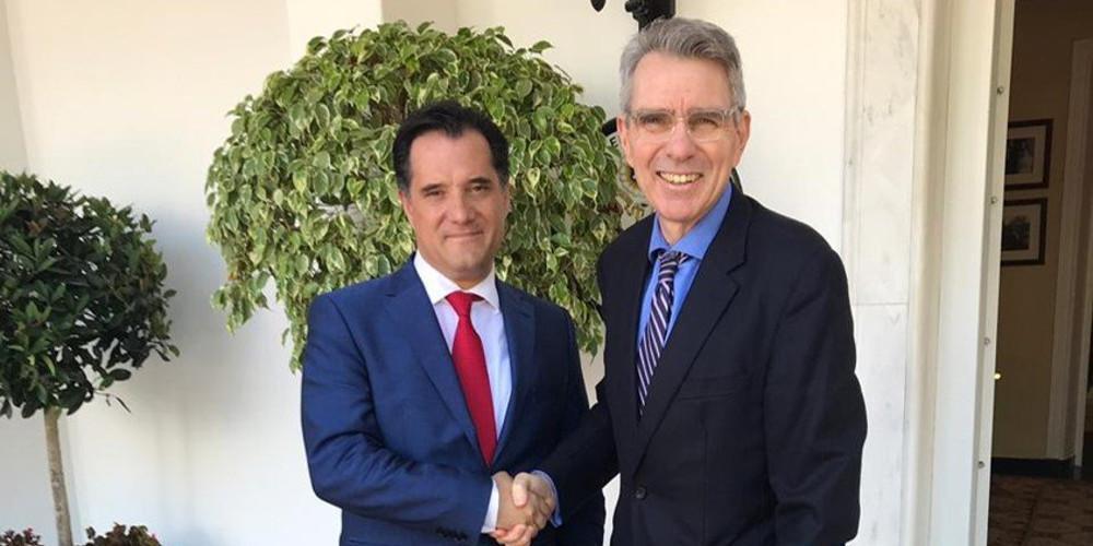 Πάιατ: Σημαντικά περιθώρια ανάπτυξης των ελληνοαμερικανικών σχέσεων