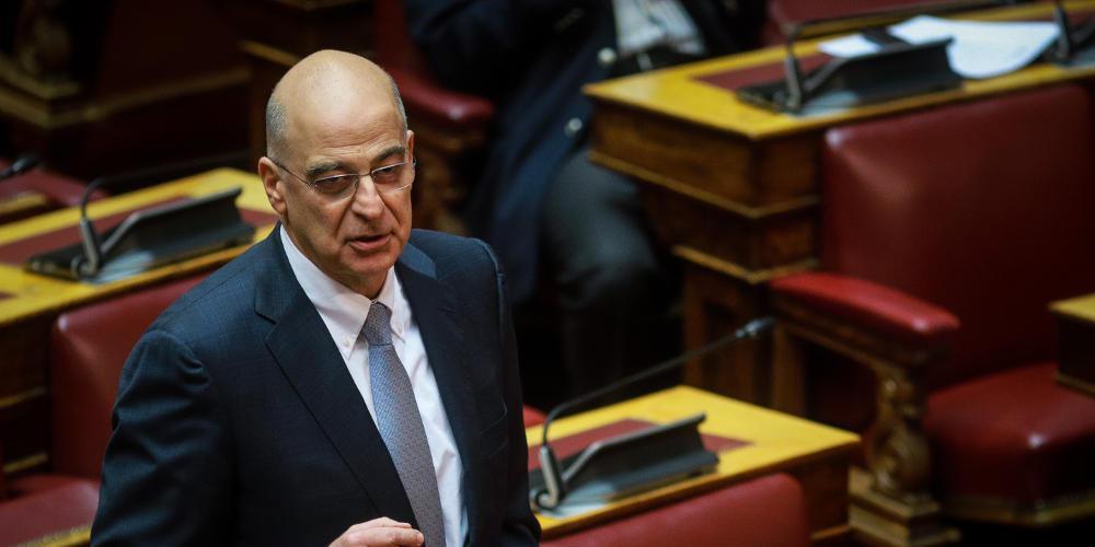 Δένδιας: Η Ελλάδα δεν κάνει εκχωρήσεις σε θέματα κυριαρχίας και κυριαρχικών της δικαιωμάτων