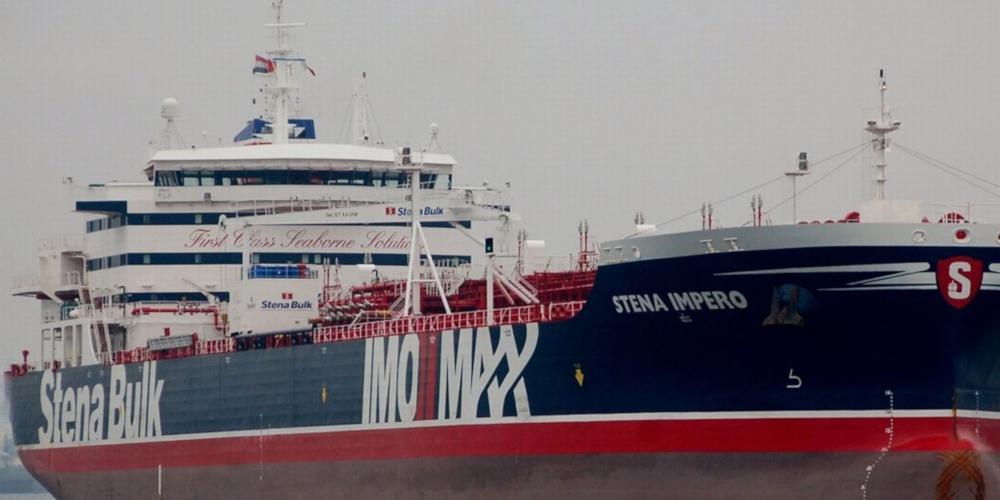 Βίντεο-ντοκουμέντο: Οι διάλογοι των Φρουρών της Επανάστασης με το πλήρωμα του βρετανικού πλοίου