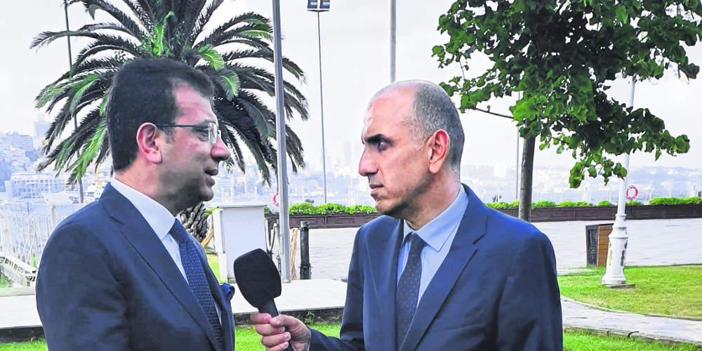 Ιμάμογλου στον «Ε.Τ.»: Θα χτίσουμε σχέσεις φιλίας με την Ελλάδα, υπήρξαν πολιτικοί που το κατάφεραν