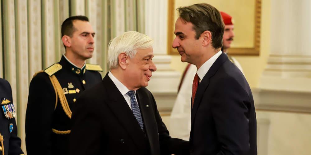 Στην Θεσσαλονίκη Μητσοτάκης-Παυλόπουλος για τις εορταστικές εκδηλώσεις