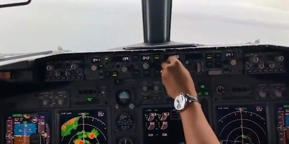 Βίντεο-σοκ: Η στιγμή της πτώσης ενός Boeing 737 στον Ειρηνικό