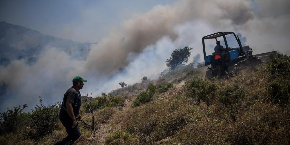 Σε κατάσταση έκτακτης ανάγκης τρεις περιοχές της Εύβοιας - Σε ύφεση οι πυρκαγιές