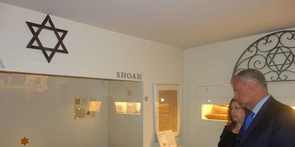 Eπίσκεψη Μάκη Βορίδη στο Εβραϊκό Μουσείο Ελλάδος