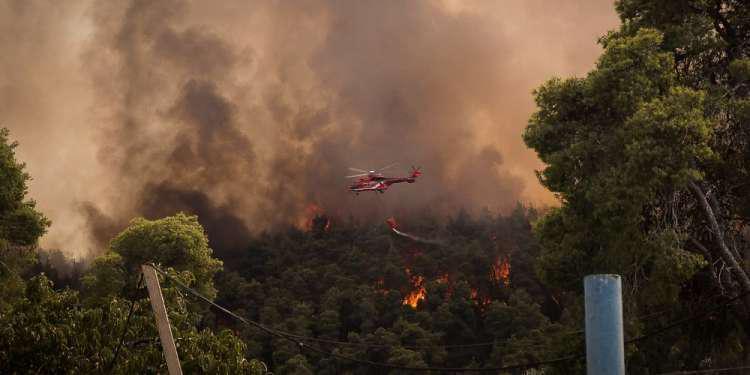 Τραγωδία στην Πορτογαλία: Νεκρός πιλότος πυροσβεστικού ελικοπτέρου - Έπεσε σε γραμμή υψηλής τάσης