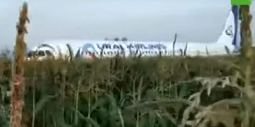 Αναγκαστική προσγείωση αεροπλάνου στη Ρωσία με 10 τραυματίες – Μπήκαν πουλιά στον κινητήρα [βίντεο]