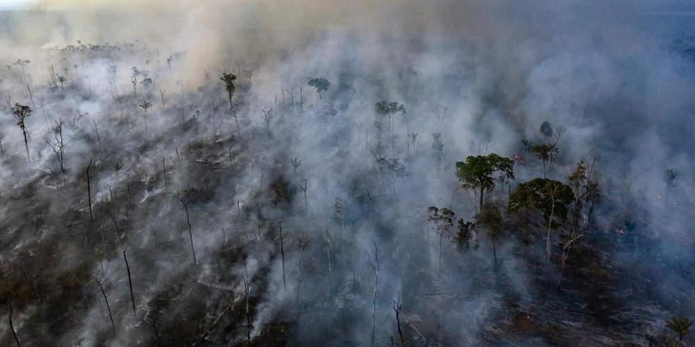 Ο Αμαζόνιος καίγεται και η Γη χάνει την ανάσα της: Κατά 30% αυξήθηκαν οι πυρκαγιές το 2019