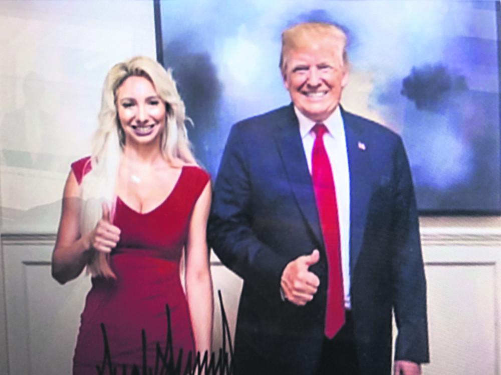 «Φωτιά» στην Μύκονο από την ομογενή συνεργάτιδα του Τραμπ, Αντρια Κατσιματίδη