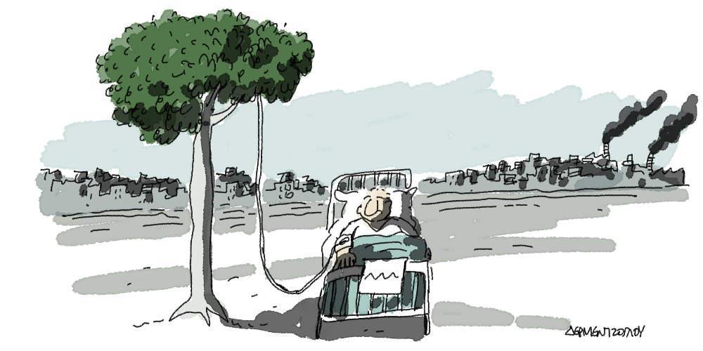 Η γελοιογραφία της ημέρας από τον Γιάννη Δερμεντζόγλου - Τετάρτη 14 Αυγούστου 2019