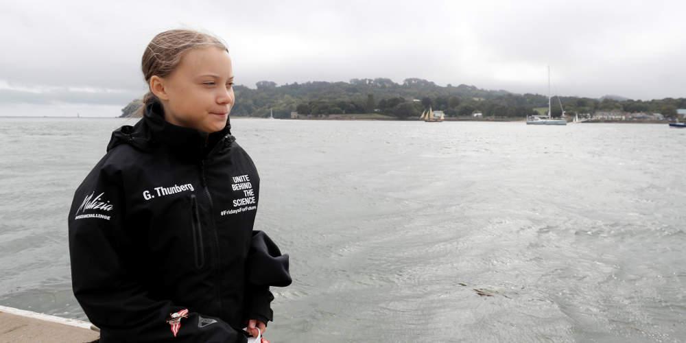 Η Γκρέτα Τούνμπεργκ βρήκε πλοίο να ταξιδέψει από τις ΗΠΑ στην Ισπανία