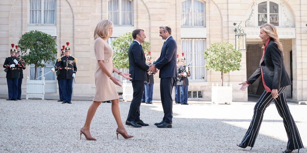 Κυριάκος Μητσοτάκης: Στο Παρίσι ο πρωθυπουργός – Τετ α τετ με Μακρόν
