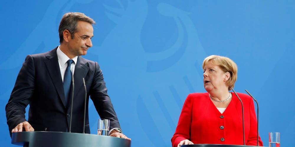 Γερμανική Καγκελαρία: Στενότερη συνεργασία με Ελλάδα σε οικονομία, ενέργεια, κλίμα