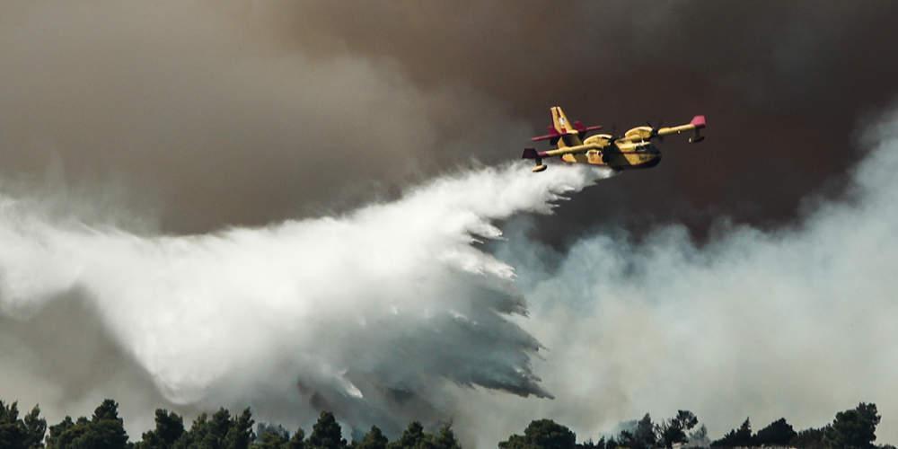 Προσοχή: Σε αυτές τις περιοχές υπάρχει υψηλός κίνδυνος πυρκαγιάς την Κυριακή